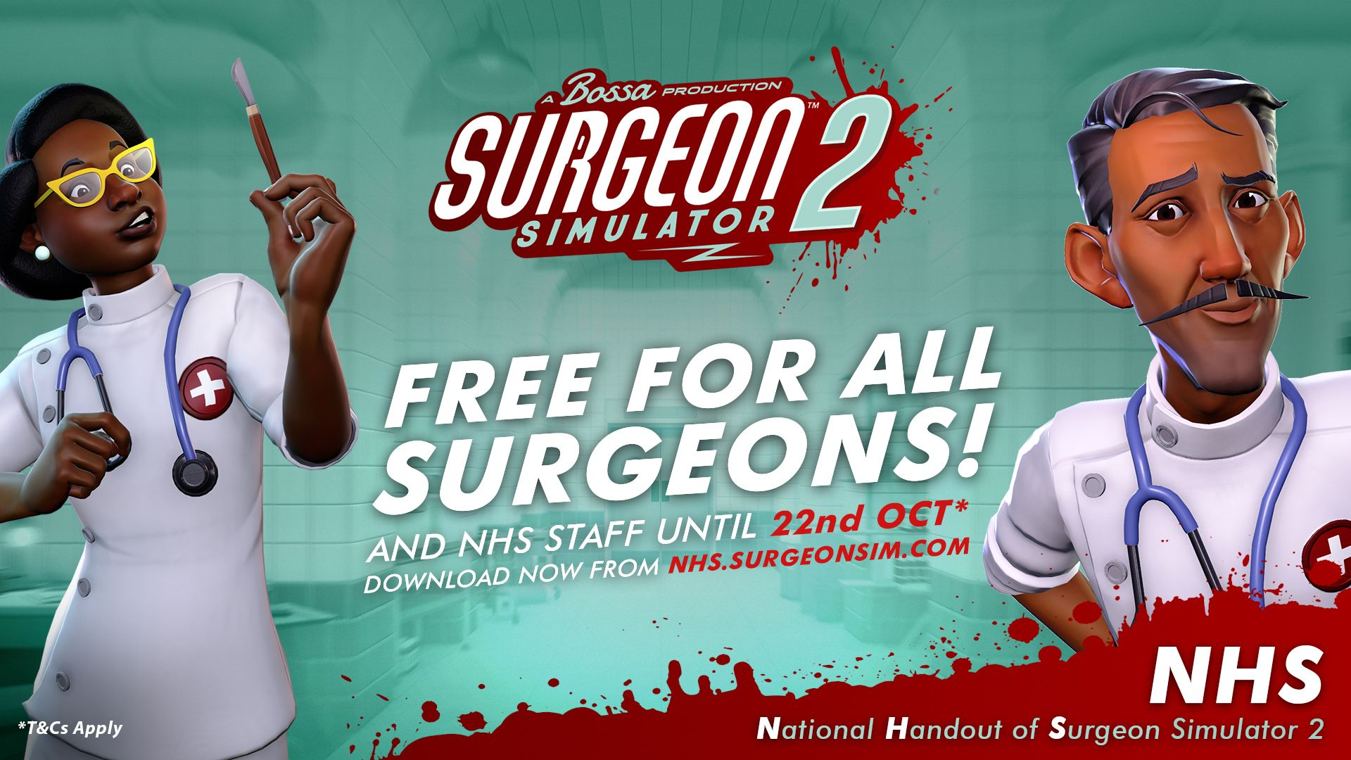 Surgeon Sim 2 is Now Free For Real Surgeons!