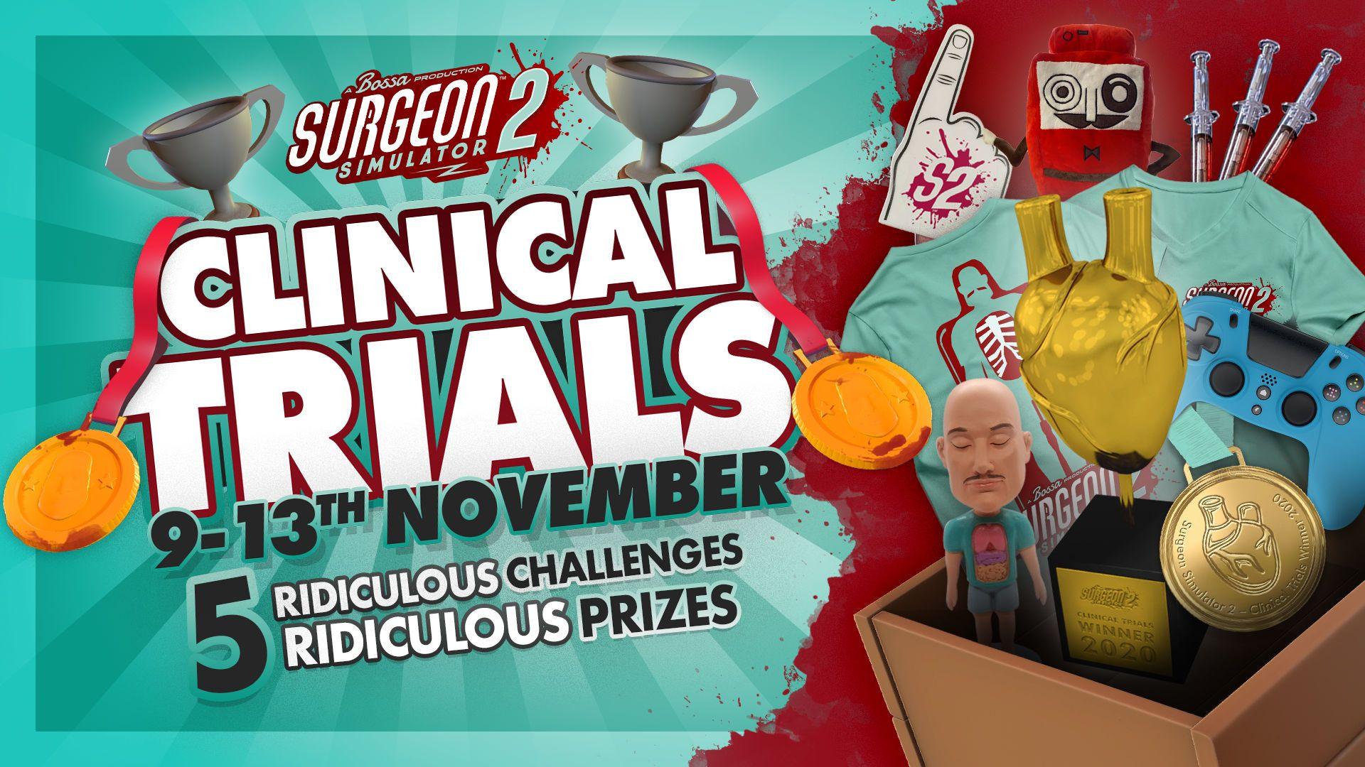 Win Ridiculous Prizes in Latest Update - Clinical Trials